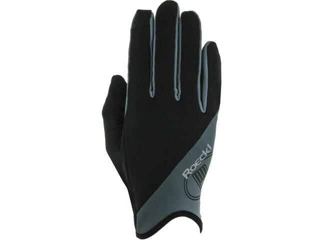 Roeckl Jano Running Gloves, black/grey